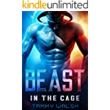 Beast in the Cage: A Scifi Alien Romance (Fated Mates of Breeder Prison Book 1)