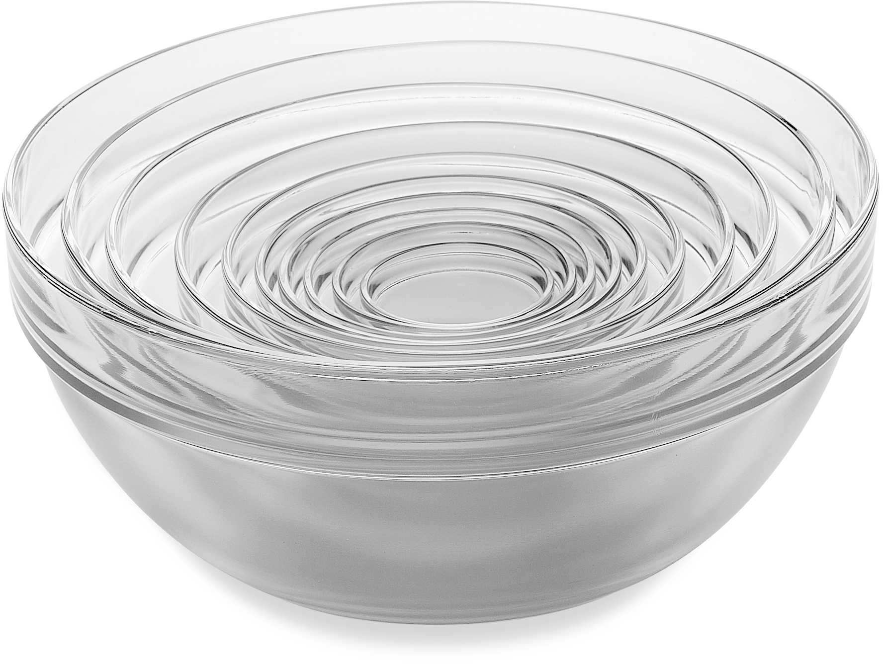 10-Piece Tempered Glass Nesting Mixing and Prep Bowl Set - Bed Bath & Beyond