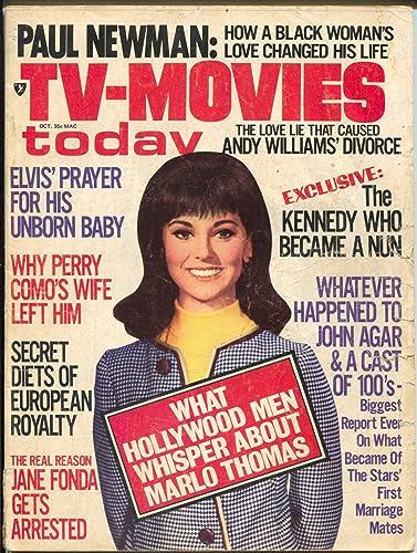 TV-Movies Today 10/1970-Hillman-Marlo Thomas-Jane Fonda-John