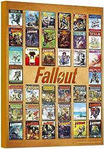 Fallout Poster Wall Art Set -- Mounted Fallout Comics Print (8
