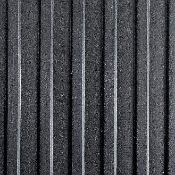| tailles diverses rev/êtement sol industriel lieux de d/échargement camion 120x100cm Tapis de sol caoutchouc etm/® stri/é largeur 120cm protection remorques pour centres commerciaux etc