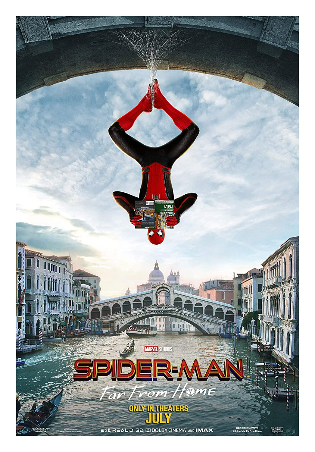 Amazon.com: Spider Man Far from Home Movie Poster Limited Wall Art ...