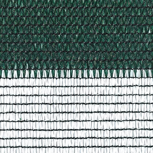 tenax Rete Tessuta Ombreggiante Frangivista a Schermatura Totale Coimbra 1,00x5 m Verde