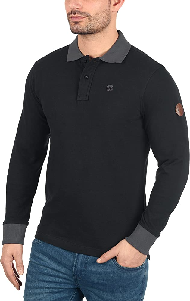 BLEND Ralle - Camiseta Polo para Hombre, tamaño:S;color:Black ...