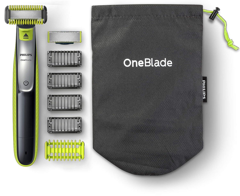 seleziona per originale nuova alta qualità consegna gratuita Dettagli su Philips QP2630/30 OneBlade, Rasoio Viso e Corpo, Wet&Dry con  accessori,...