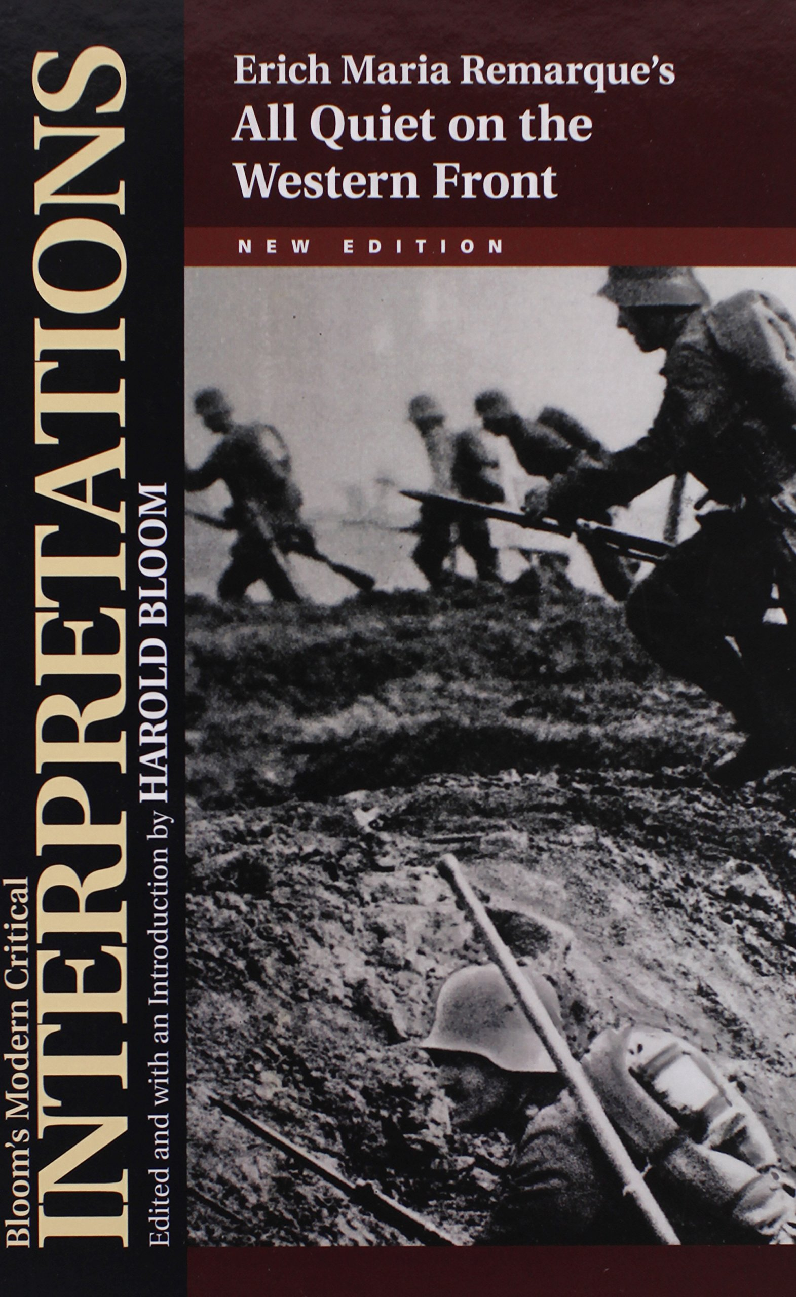 erich maria remarque s all quiet on the western front bloom s erich maria remarque s all quiet on the western front bloom s modern critical interpretations hardcover sterling professor of the humanities harold