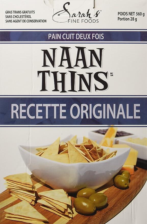 Sarah S Naan Thins 560 Gram Amazon Ca Grocery