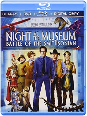 Night At The Museum Battle Of The Smithsonian Three Disc Blu Ray