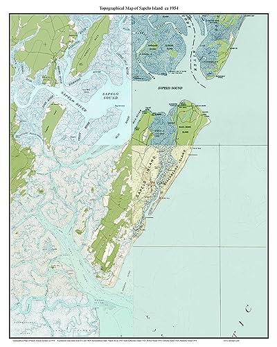 Amazoncom Sapelo Island Ca USGS Old Topographic Map - Georgia topographic map