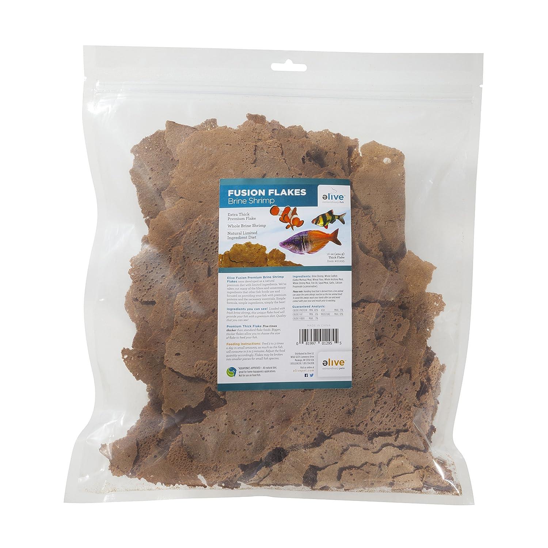 Elive Fusion Flake Brine Shrimp Bulk Bag, 16 oz