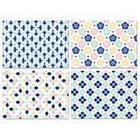 Blank Cards with Envelopes - 48 Mosaic Blank Note Cards with Envelopes-4 Different Assorted Cards for All Occasions! Blank Notecards and Envelopes Stationary Set for Personalized Greeting Cards-4x5.5