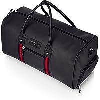 sac de qualité pour le sport, sac fourre-tout de voyage d'une nuit, sac de voyage de week-end, bagage de cabine, valise avec compartiment à chaussures séparé avec un sac à cordon de grande qualité