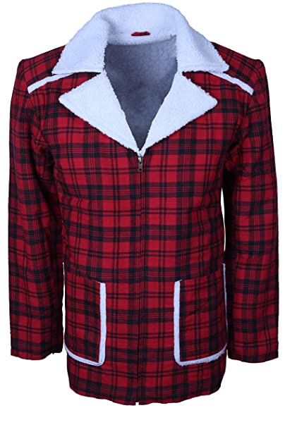 Amazon.com: Chaqueta de piel para Deadpool Shearing Jacket ...