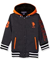 U.S. Polo Assn. Boys' Sherpa Lined Fleece Hoodie