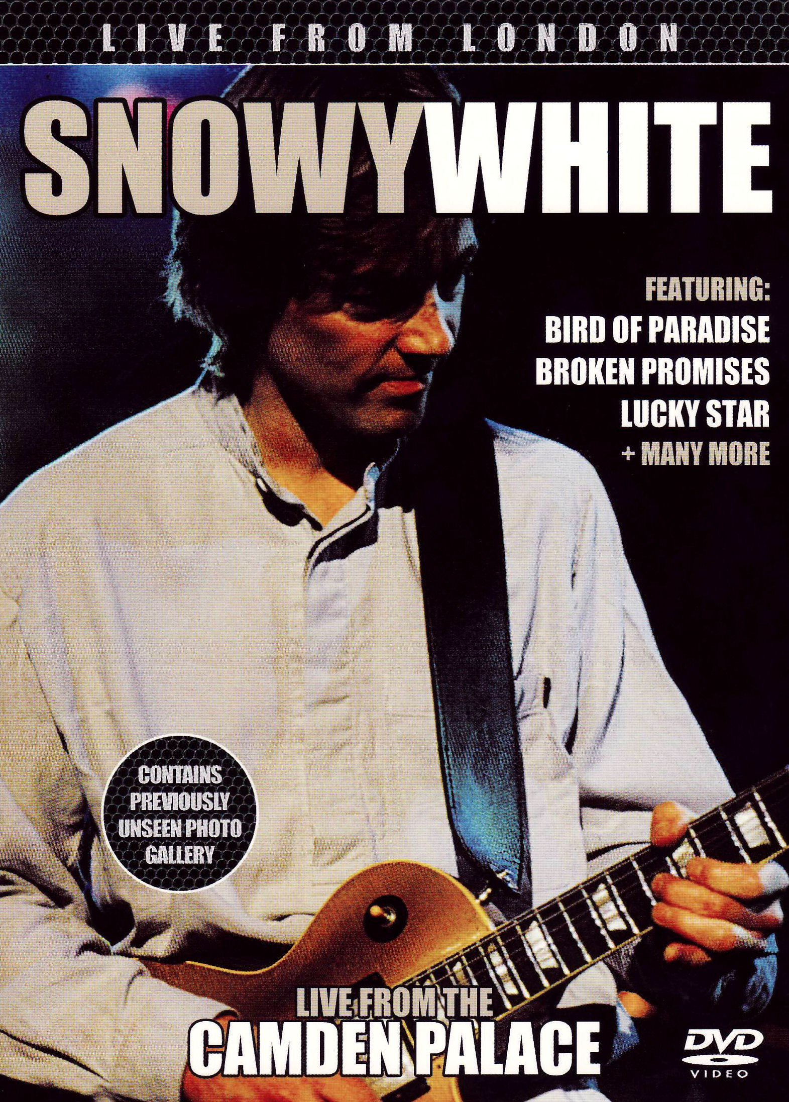 DVD : Snowy White - Live From London (DVD)
