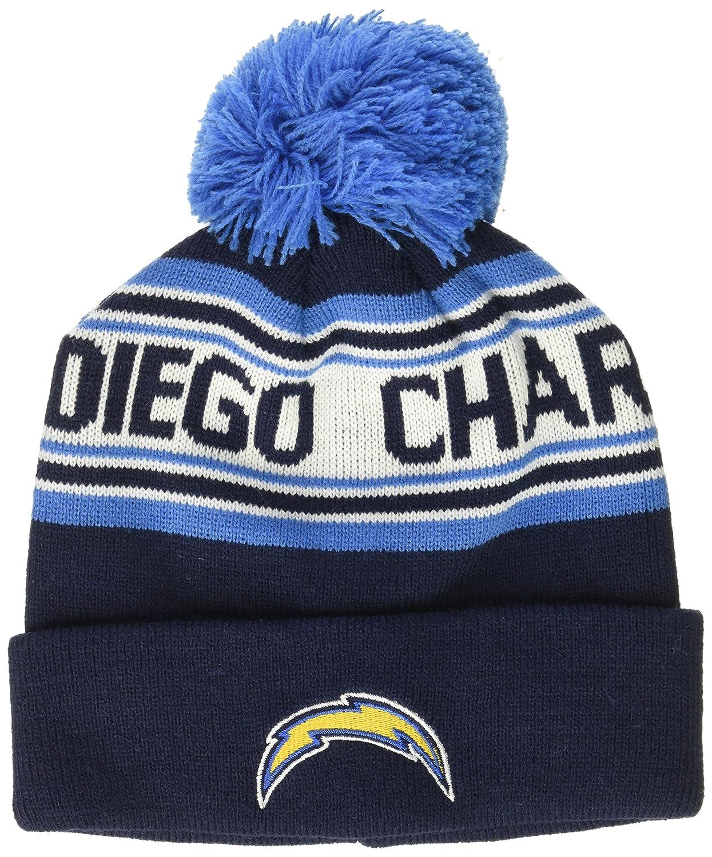 dba2a14d393 Amazon.com   NFL Toddler Cuffed Knit with Pom Hat-Dark Navy-1 Size ...