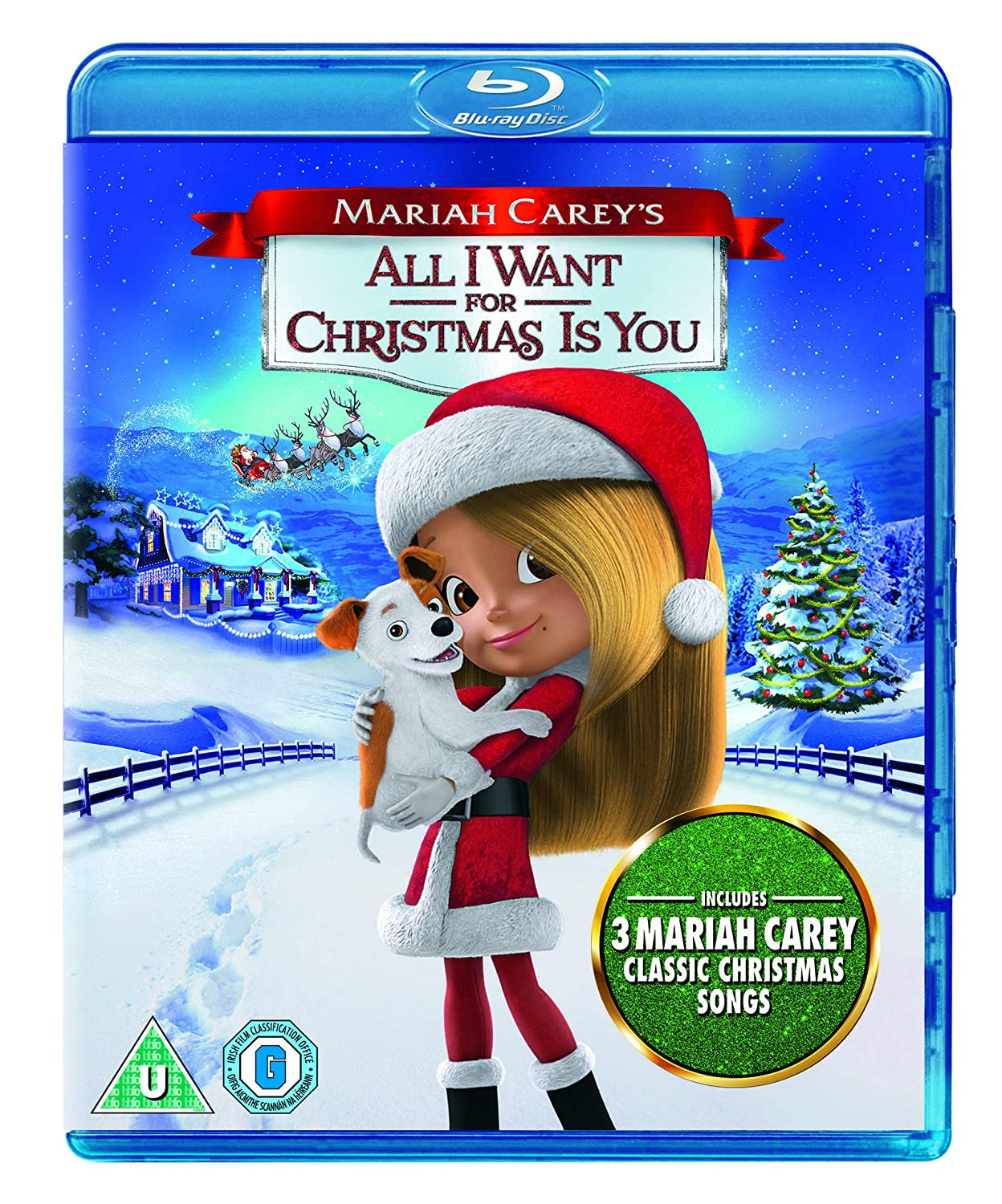 Mariah Carey's All I Want for Christmas is You BD Blu-ray +
