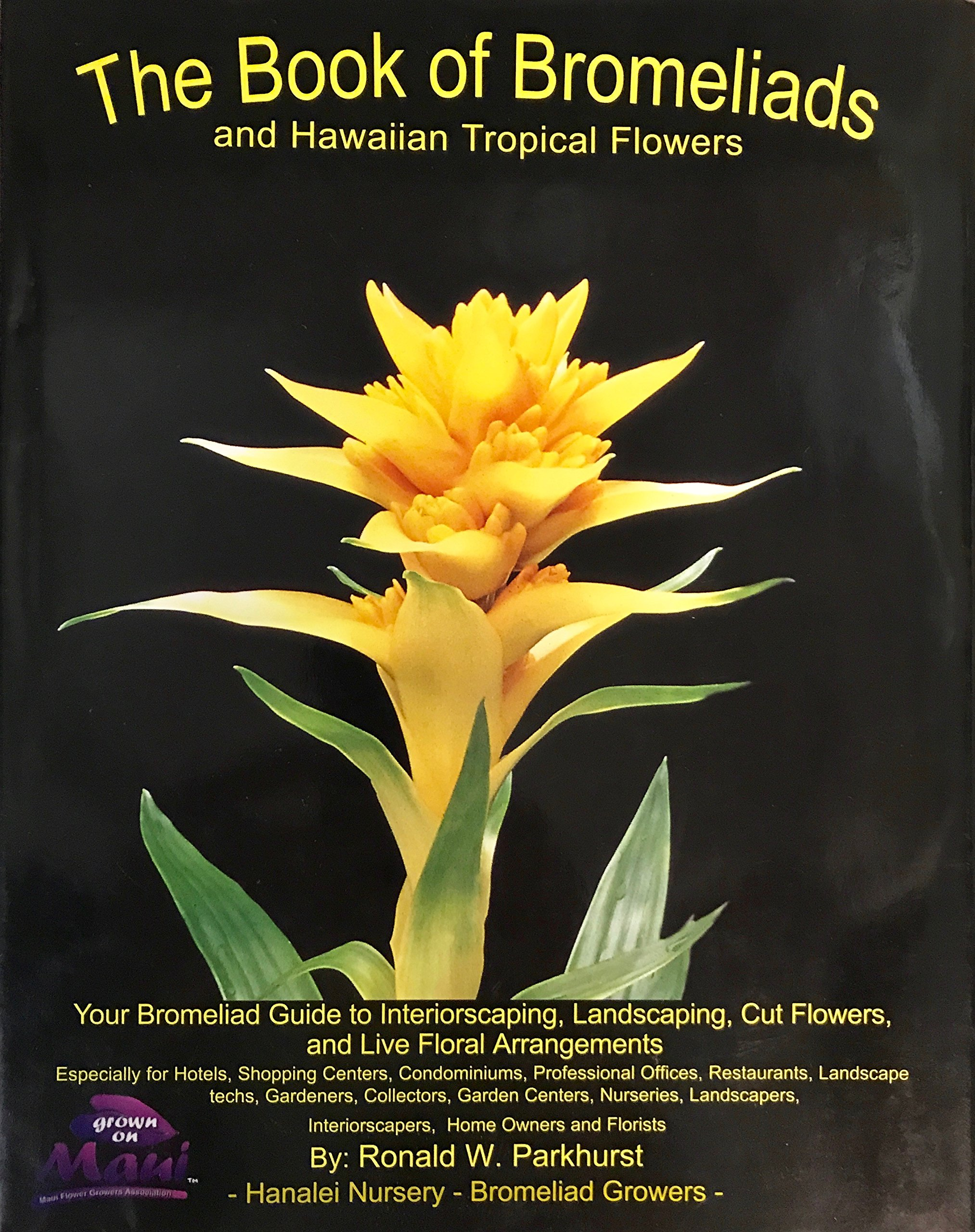 The book of bromeliads and hawaiian topical flowers your bromeliad the book of bromeliads and hawaiian topical flowers your bromeliad guide to interiorscaping landscaping cut flowers and live floral arrangements izmirmasajfo