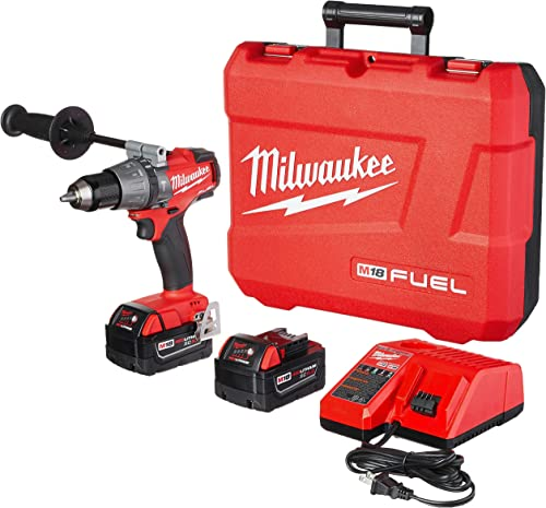 Milwaukee 2704-22 M18 Fuel 1 2 Hammer Drill Driver Kit