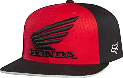 e5cdc1aa992 Image Unavailable. Image not available for. Color  Honda Motorcycle  Officially Licensed Fox Premium Men s Flexfit Hat Cap ...