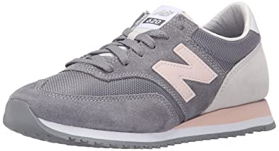 New Balance Damen CW620 Sneakers, Grau (Grey/Pink), 42.5 EU