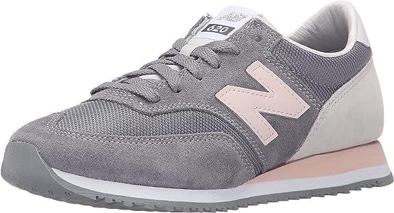 influenza taza tomar  New Balance 620 - Zapatillas Mujer, Gris (Grey/Rose), 42,5: Amazon.es:  Zapatos y complementos