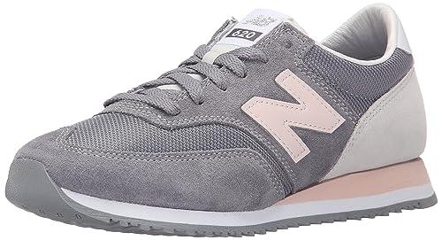 7318b34b New Balance CW620, Zapatillas para Mujer, Gris (Grey/Pink), 36 EU:  Amazon.es: Zapatos y complementos