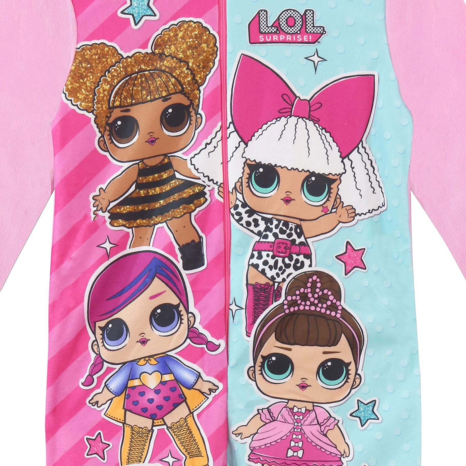 Amazon.com: L.O.L Surprise! Girls Dolls Onesie Size 5 Multicolored: Clothing