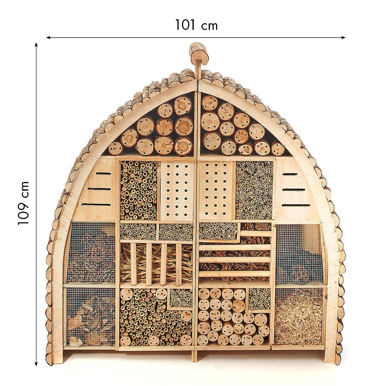 Insektenhotel Groß - Kobolo Insektenhaus XXL