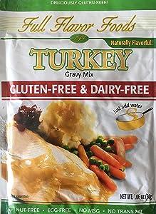 Turkey Gravy Mix Gluten Free & Dairy-Free, Pack of 3 Envelopes, 1.06 oz Each