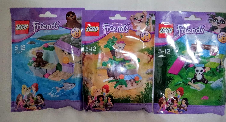 Lego Friends Animal Set Series 6 41047 41048 41049