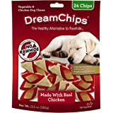 DreamBone DBC-02398 DreamChips with Real Chicken, Rawhide-Free Chews for Dogs