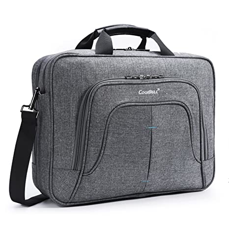 UtoteBag 15,6 Laptop Bolsa Bolsillos hombro maletín impermeable antigolpes portátil Funda business Ordenador Portátil