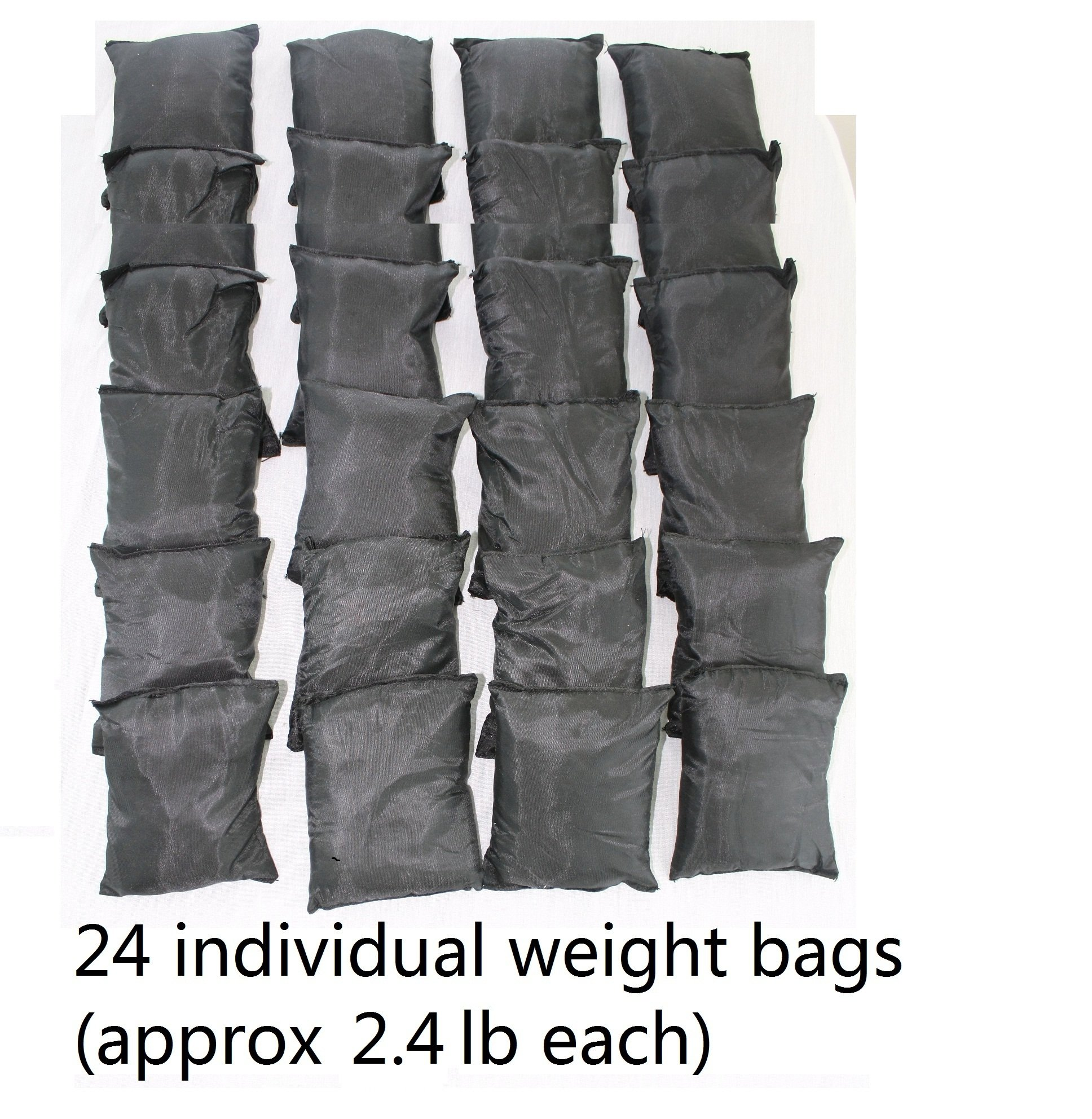 Mountaineer 60 Lbs Weight Vest, Weights Included, 24 Bags of Removable Weights by Mountaineer