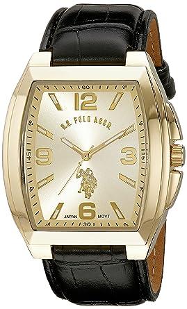 U.S.POLO ASSN. USC50174 - Reloj de Pulsera Hombre, Color Negro ...