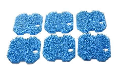 Sin Marca Estera de filtro Esponja de filtrado gruesa azul de reemplazo para Eheim Professional 2222