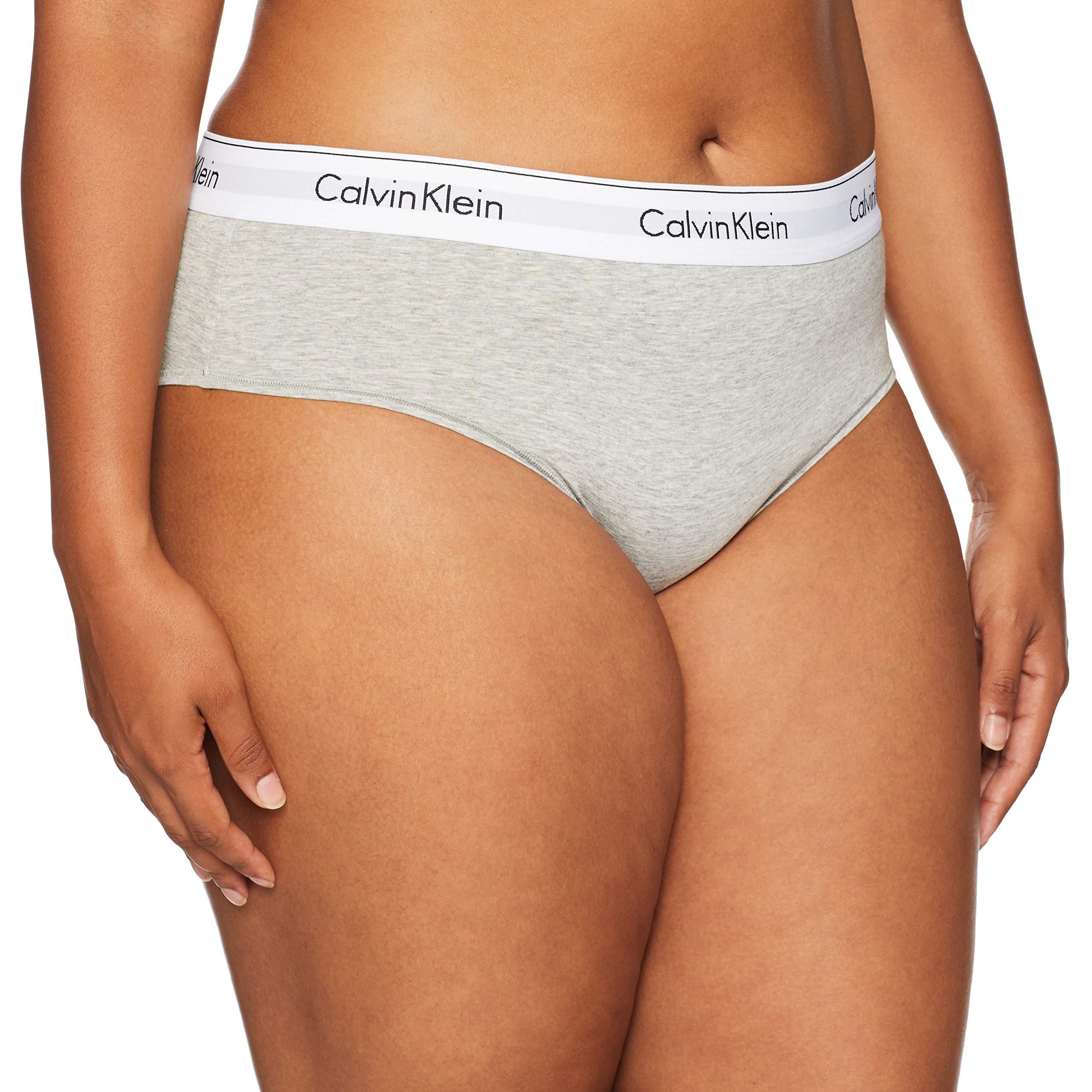 e0398cc73f4 Galleon - Calvin Klein Women s 1X-3X Modern Cotton Bikini Panty ...