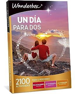 WONDERBOX Caja Regalo UN DÍA para Dos 2.100 Actividades para Dos Personas