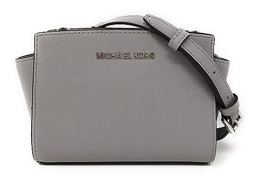 e7c9d9315ca Michael Kors Selma Mini Saffiano Leather Crossbody Bag