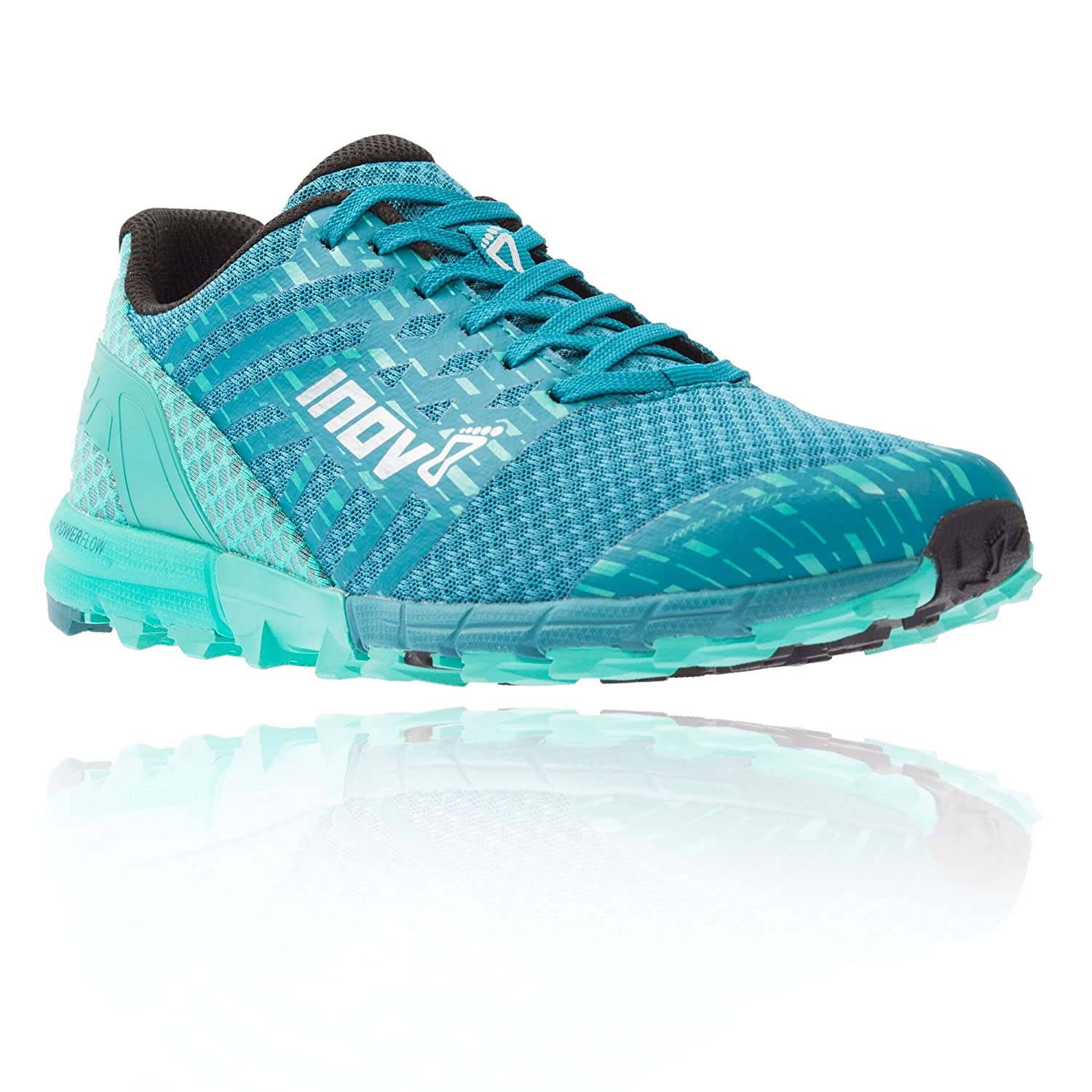 Inov-8 Women's Trailtalon 235 (W) Trail Running Shoe B07DWPSDN1 10 W US|Blue Grey / Black