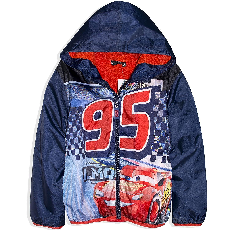 Disney Official Pixar Cars Boys Warm Zipped Jacket, Coat Polar Fleece Lining 2-8 Years - New 2017/18