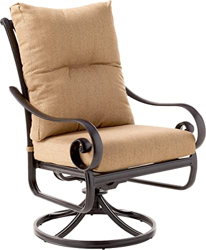 K B PATIO LD600-11 Santa Anita Swivel Rocker Dining Chair