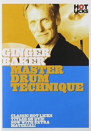 Ginger Baker Drum Book