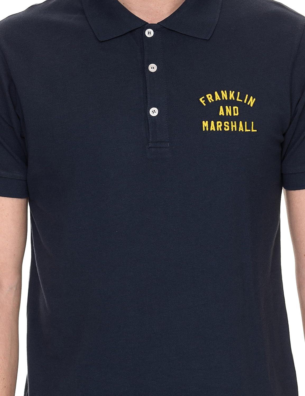 Franklin & Marshall Camisa de Polo de Logotipo Marina X-Large ...