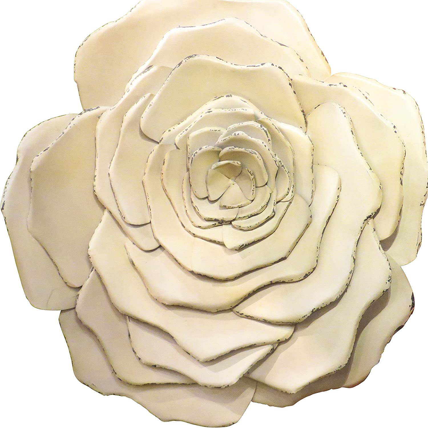 "37"" Metal Wall Flower Blossom 