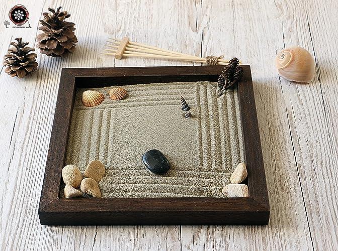 Arredamento Zen On Line : Giardino zen in legno da tavolo personalizzabile per arredamento