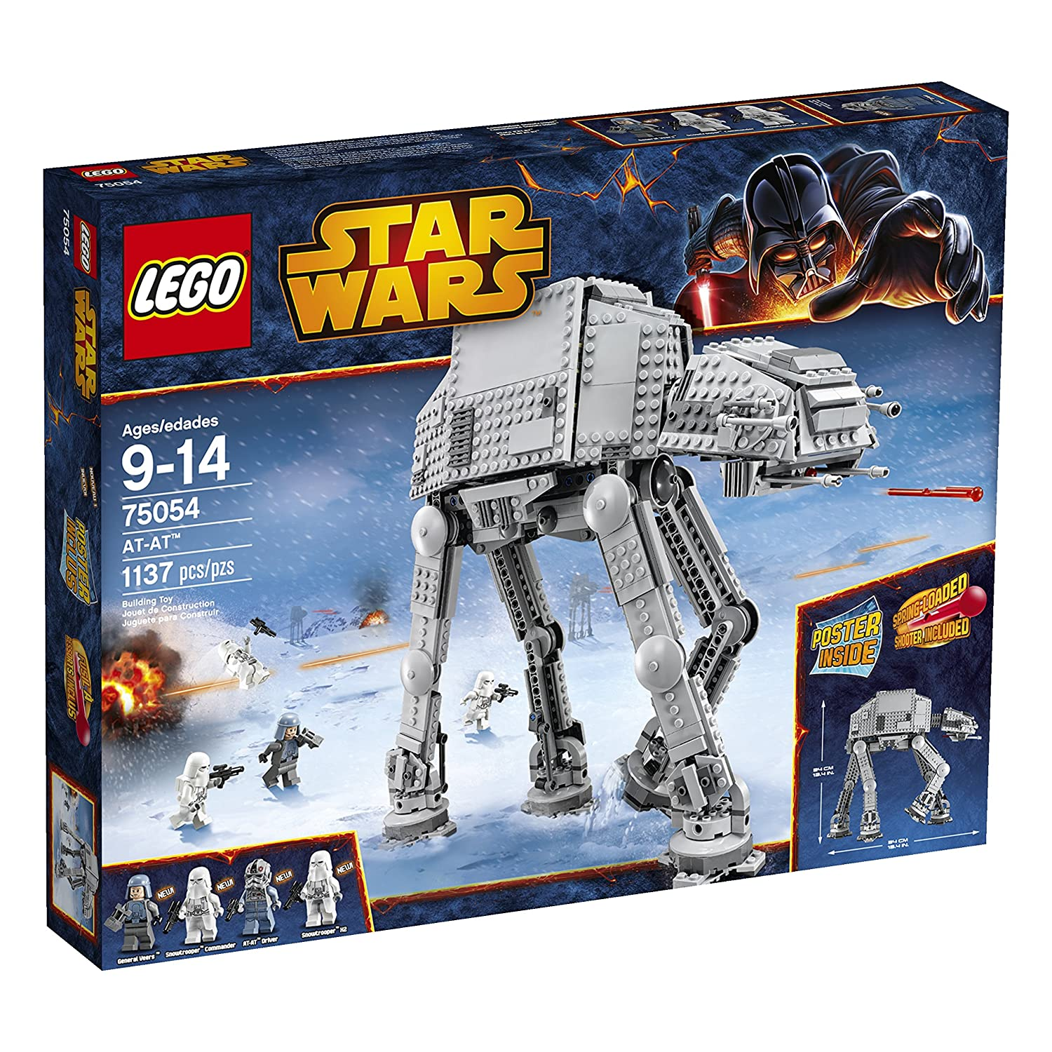 LEGO Star Wars 75054 AT-AT Building Toy (Discontinued by manufacturer)
