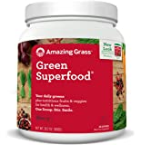 Amazing Grass, Green Superfood Powder, Berry Flavour, Value Size, 100 Servings, 28 oz (800 g)