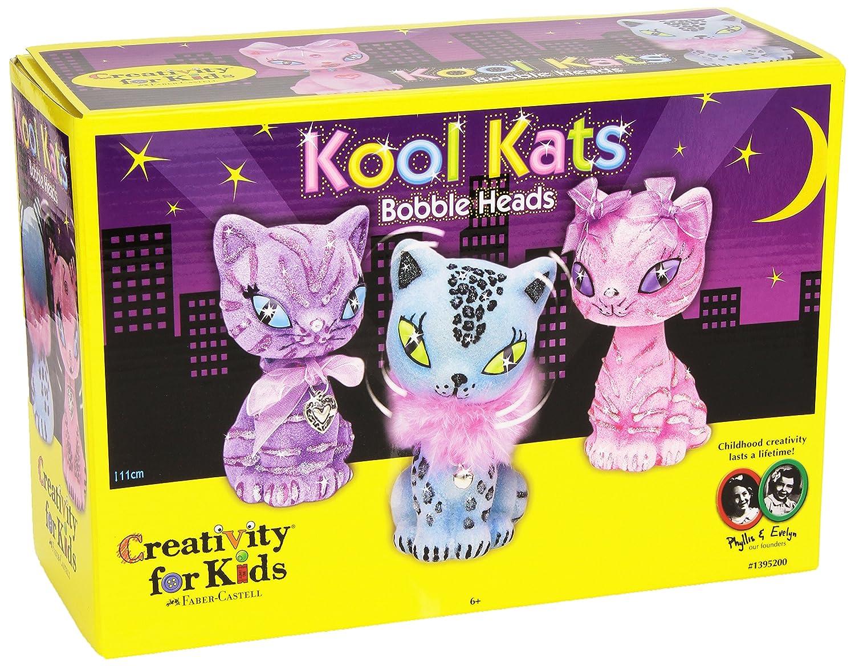 Creativity For Kids - Set per creare pupazzetti a forma di gatto 1395