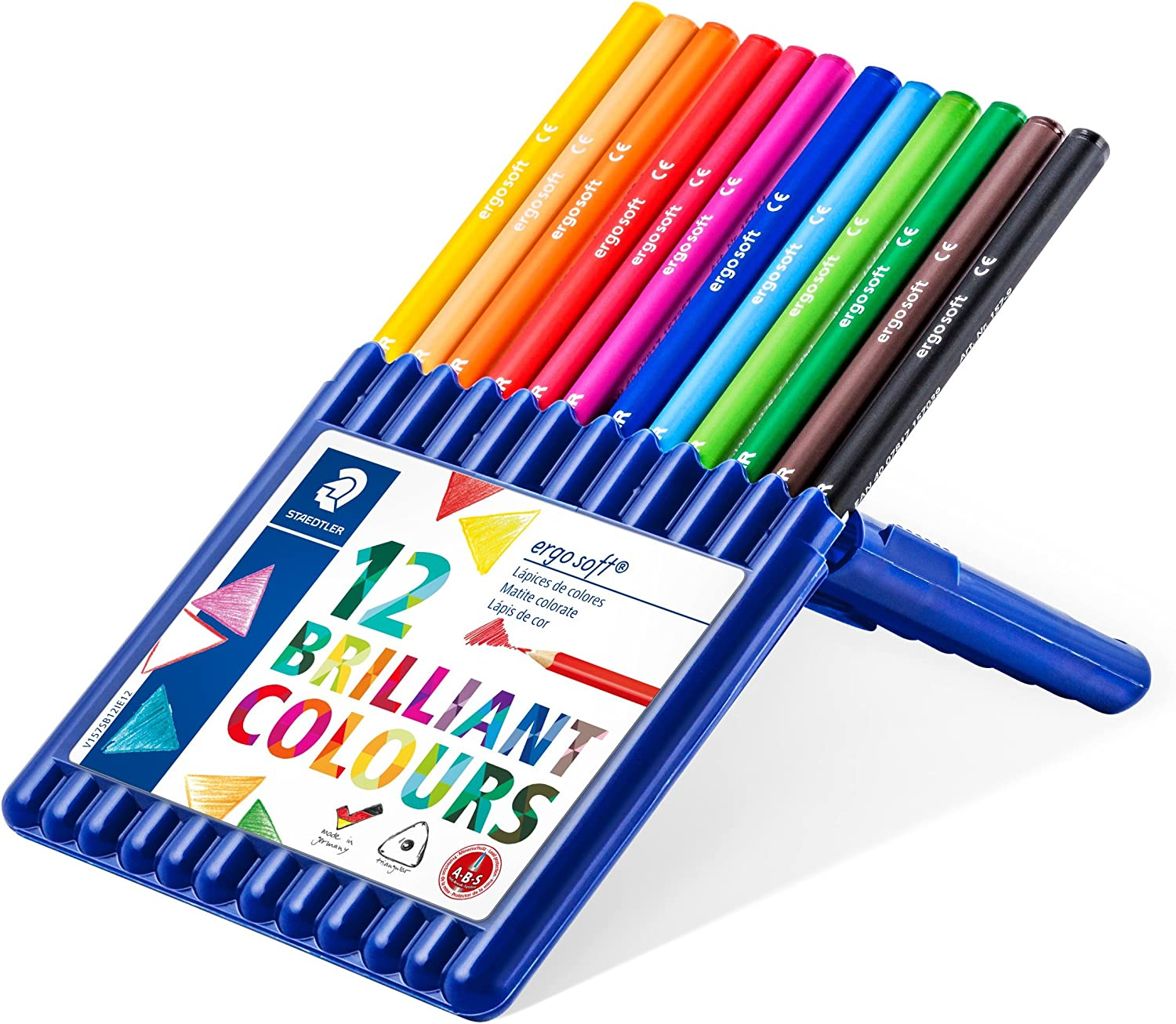 New. Set of 12 Colored Pencils
